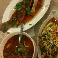 Photo taken at Sara Thai Kitchen by Love M. on 7/4/2012