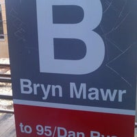 Photo taken at CTA - Bryn Mawr by Elaine H. on 9/8/2012