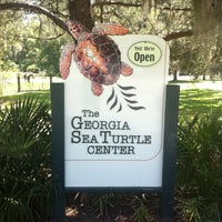 Photo taken at Georgia Sea Turtle Center by Antoine L. on 4/2/2012