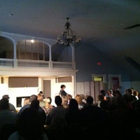 Photo taken at Half Light Theatre @ Roberson Mansion by Nathan B. on 3/25/2012