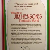 Photo taken at Jim Henson's Fantastic World exhibit by Melissa B. on 3/4/2012