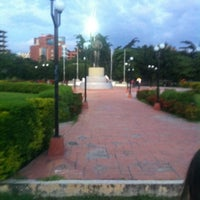 Photo taken at Parque El Ejército by Armando B. on 8/25/2012