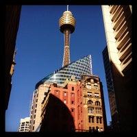 Photo taken at Sydney Tower Eye by Eduardo G. on 5/10/2012