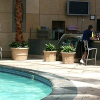 Photo taken at Mohegan Sun Pool by Laura F. on 7/8/2012