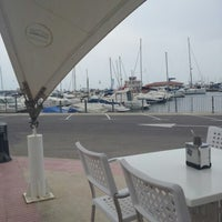 Photo taken at Club Nautico Sant Carles de la Rapita by David F. on 6/27/2012