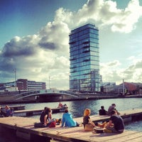 Photo taken at Grand Canal Dock by tartex o. on 7/7/2012