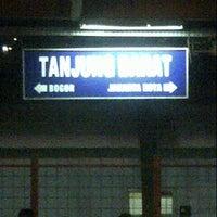 Photo taken at Stasiun Tanjung Barat by Reedwan R. on 8/21/2012