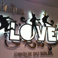 Photo taken at The Beatles LOVE (Cirque Du Soleil) by Emily on 6/24/2012