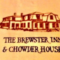 Photo taken at The Brewster Inn & Chowder House by Steven T. on 8/5/2012