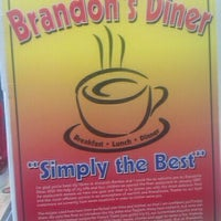 Photo taken at Brandon's Diner by Kevin C. on 4/7/2012