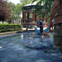 Photo taken at Church Square Park by Tara P. on 5/28/2012