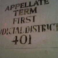Photo taken at Appellate Term, First Department by William S. on 4/10/2012