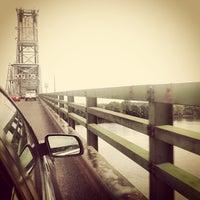 Photo taken at Burlington–Bristol Bridge by Anu G. on 8/14/2012