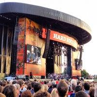 Photo taken at Hard Rock Calling by Benjamin F. on 7/15/2012