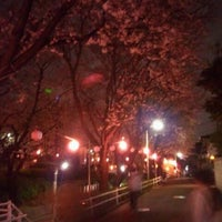 Photo taken at 桜坂 by no m. on 4/7/2012