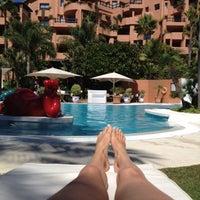 Photo taken at Kempinski Hotel Bahía by melinda V. on 8/13/2012