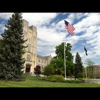 Photo taken at Burruss Hall by Rick on 4/17/2012