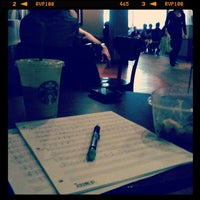 Photo taken at Starbucks by Nicholas Adam O. on 6/13/2012