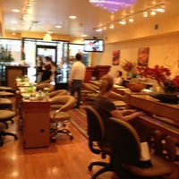 Photo taken at Bronxville Nails by K M. on 4/15/2012