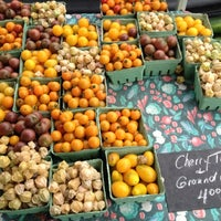 Photo taken at Le Marché St. Norbert Farmer's Market by Heather C. on 8/18/2012