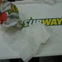 Photo taken at Subway by Vanessa A. on 2/15/2012