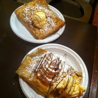 Photo taken at Creperie by Syra S. on 4/20/2012