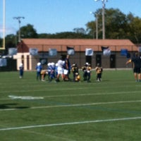 Photo taken at Phelps Lane Football by Mark N. on 9/9/2012