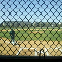 Photo taken at Thomas M. Gerrity Athletic Complex by Katie B. on 4/13/2012