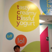 Photo taken at TCBY by Denise M. on 6/1/2012