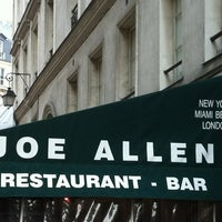 Photo taken at Joe Allen by Aude-Marie on 4/14/2012