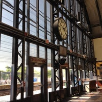 Photo taken at Metro North - South Norwalk Train Station by Marcelo A. on 5/28/2012