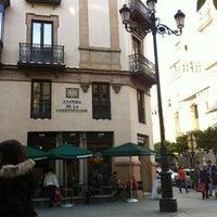 Photo taken at Starbucks Avda Constitución 11 by Saray P. on 4/30/2012