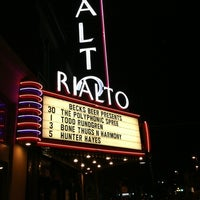 Photo taken at The Rialto Theatre by Leigh S. on 3/31/2012
