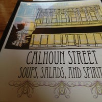 Photo taken at Calhoun St. Soups Salads and Spirits by Jaclyn G. on 8/10/2012