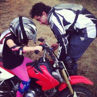 Photo taken at Escuela De Motocross MX2 by Alina M. on 6/2/2012