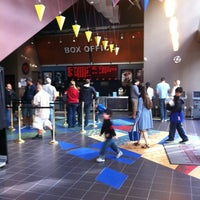 Photo taken at Regal Cinemas Meridian 16 by Ruben P. on 6/4/2012