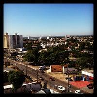 Photo taken at Hotel Golden Tulip Pantanal by Juliana C. on 3/12/2012