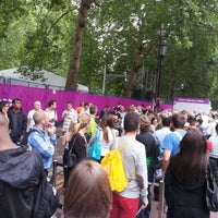 Photo taken at London 2012 Horse Guards Parade by Howard G. on 8/29/2012