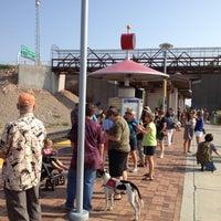 Photo taken at Rail Runner: Los Ranchos/Journal Center by Bill F. on 8/18/2012
