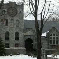 Photo taken at Scoville Memorial Library by Chris D. on 3/3/2012
