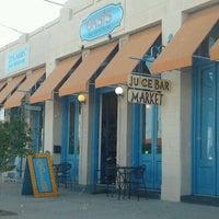 Photo taken at Oasis Juice Bar & Market by Joshua R. on 3/26/2012