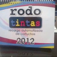 Photo taken at Rodotintas by Sebastian R. on 2/28/2012