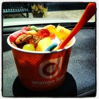 Photo taken at Orange Leaf Frozen Yogurt by Yaz on 6/24/2012