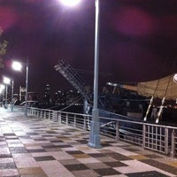 Photo taken at Pier 25 - Hudson River Park by ♛♉ Mario C. on 6/25/2012