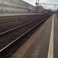 Photo taken at Gare de Renens by Claudio A. on 8/15/2012