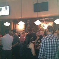 Photo taken at Belgian Beer Café Brussels by Brett A. on 4/20/2012