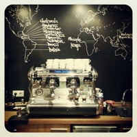 Photo taken at Gourmet Coffee by Brewistasille on 9/11/2012