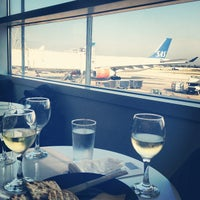 Photo taken at Scandinavian Airlines (SAS) Lounge by Satu R. on 7/1/2012
