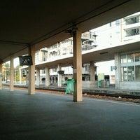 Photo taken at Genova Sampierdarena Railway Station by Alessandro Y. on 6/14/2012