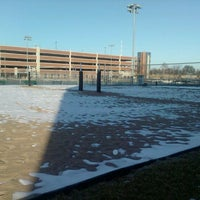 Photo taken at HSS Volleyball Courts by Josh B. on 2/17/2012
